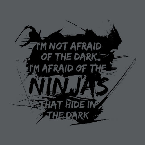 I'm Not Afraid of the Dark