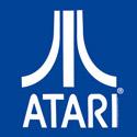 Atari (white on blue)