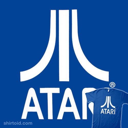 Atari (white on blue)