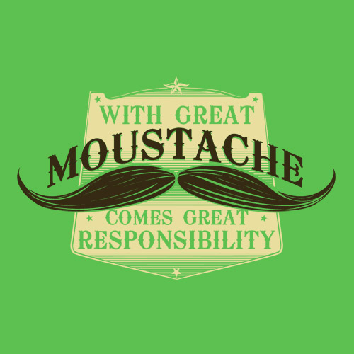 With Great Moustache