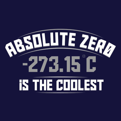 Absolute Zero Is The Coolest