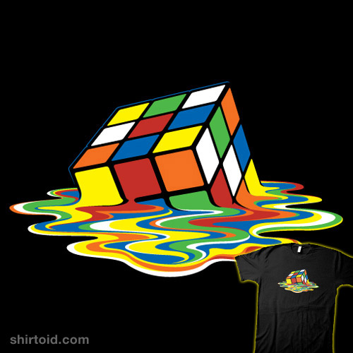 Melting Rubik's