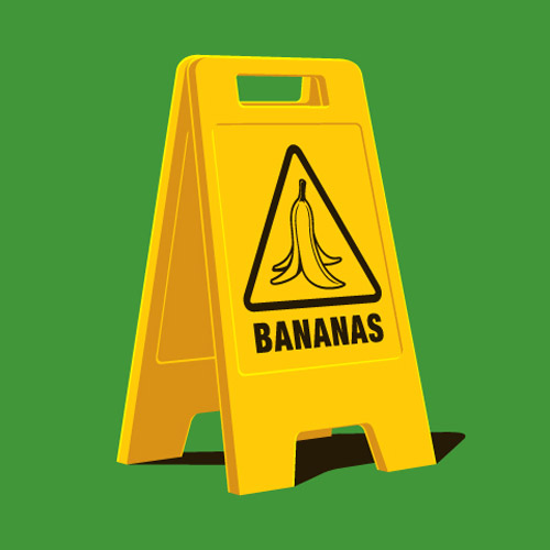 Caution! Bananas | Shirtoid