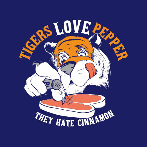 Tigers Love Pepper