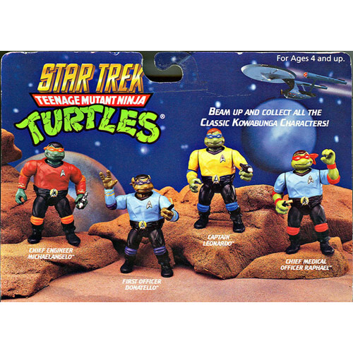 Star Trek TMNT Action Figures