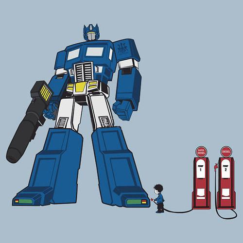 Little Bot Blue