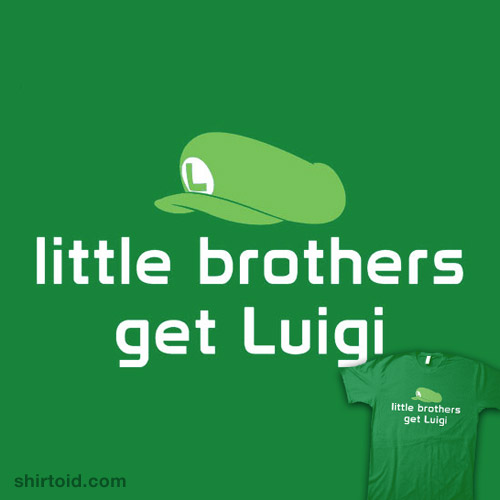 Little Brothers Get Luigi