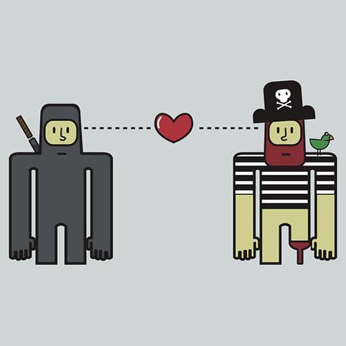 Ninjas and Pirates