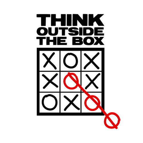 Afbeeldingsresultaat voor out of the box thinking