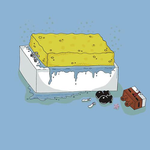 Spongebath