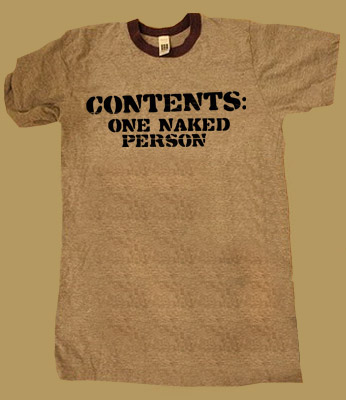 Contents: One Naked Person