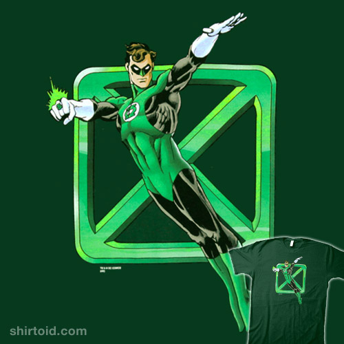 Sheldon's Green Lantern Shirt