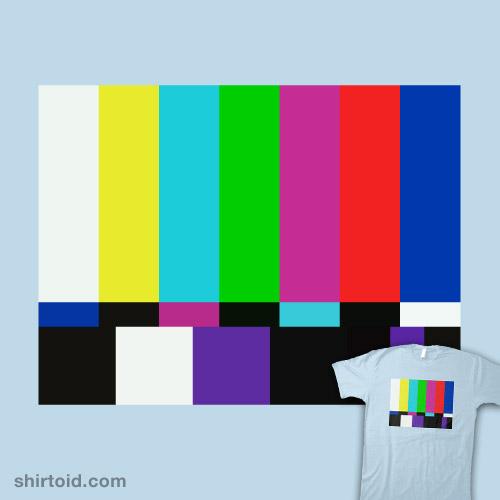 Sheldon's Test Pattern Shirt
