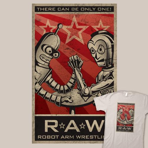 Robot Arm Wrestling League
