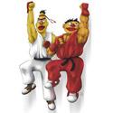 Sesame Street Fighter: Beryu & Kernie