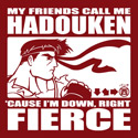 They call me Hadouken
