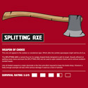 Zombie Weapons: Axe