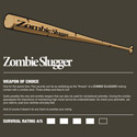 Zombie Weapons: Baseball Bat