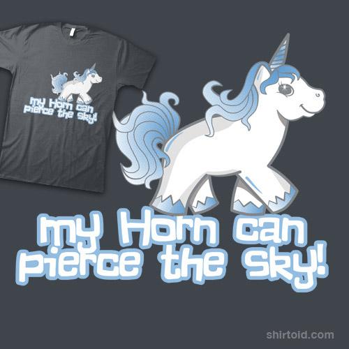 My Horn Can Pierce the Sky!