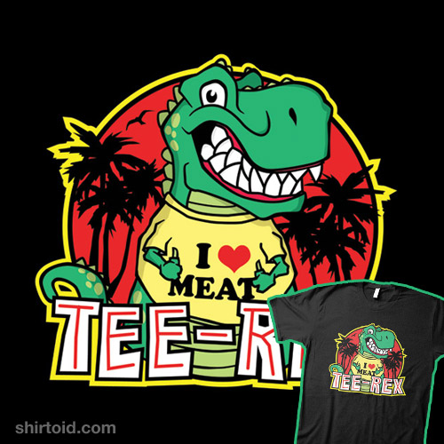 Tee Rex – The T-Shirt Wearing Dinosaur