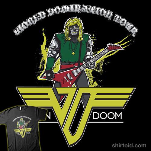 VON DOOM World Domination Tour