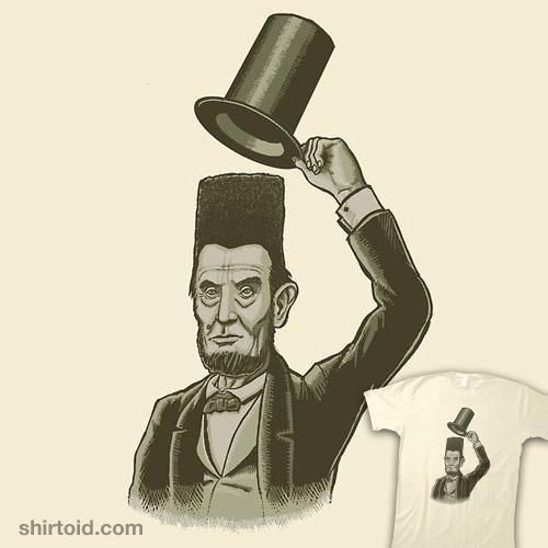 What's Under Abe's Hat?