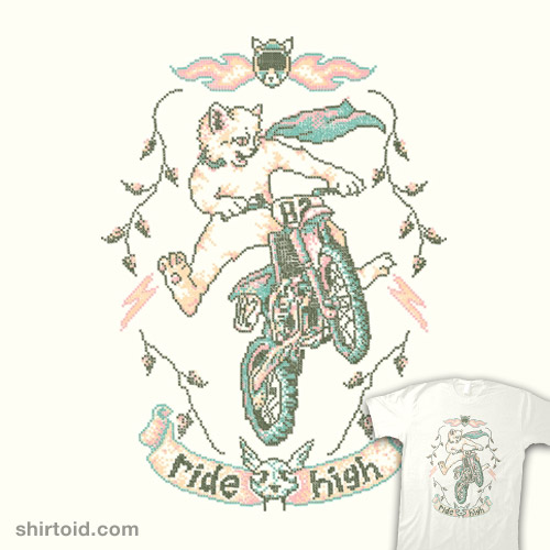Motocross-Stitch Kitteh