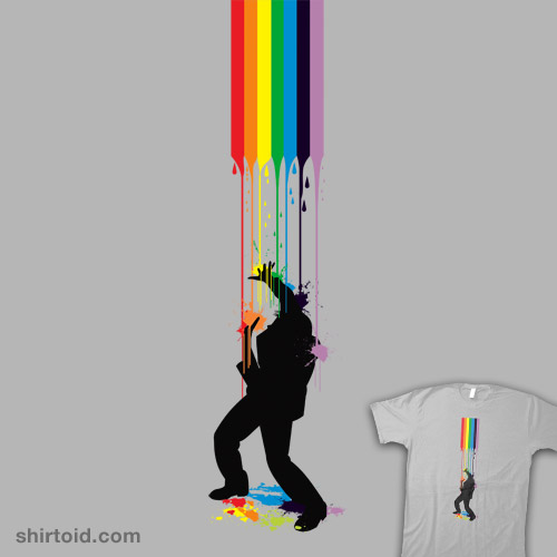 Somewhere Over the Rainbow – Someone's Getting Wet