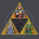 The Triforce... and a bit of darkness