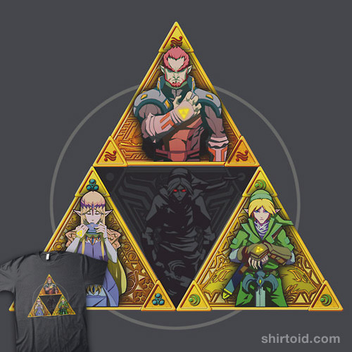 The Triforce… and a bit of darkness