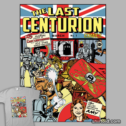 The Last Centurion Comics