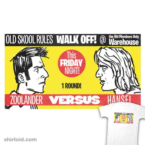 Zoolander VS Hansel Walk Off!