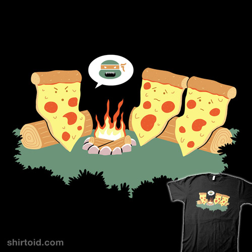 Pizza Campfire Story