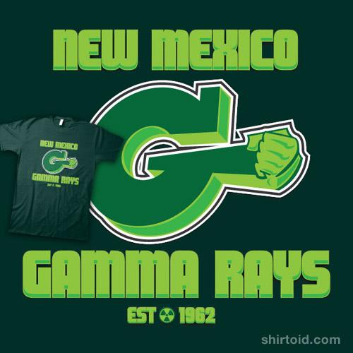New Mexico GAMMA RAYS