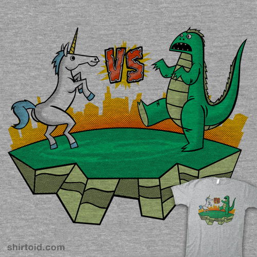 Unicorn vs Gogojira!