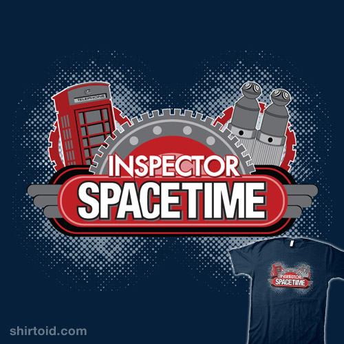 Inspector Spacetime Blogon Edition