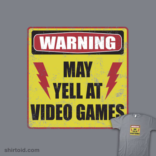 Gamer Warning