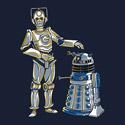 Cyber3PO and R2Dalek