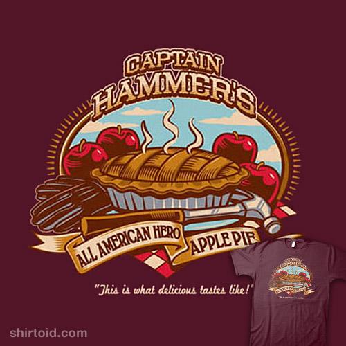 Captain Hammer's Apple Pie