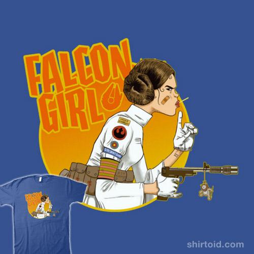 Falcon Girl