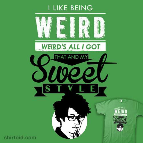 I Like Being Weird