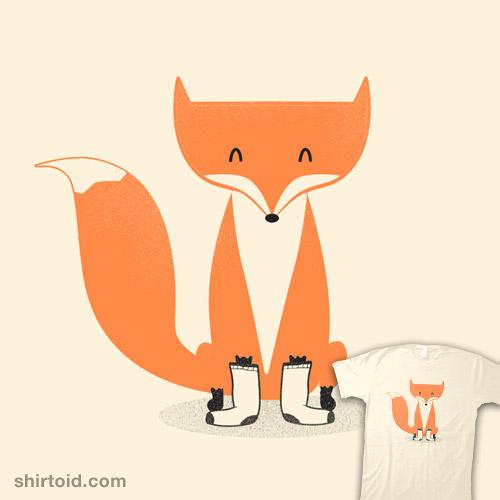 A Fox With Socks