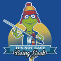It's Not Easy Being Geek
