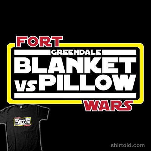 Greendale Fort Wars: Blanket vs Pillow