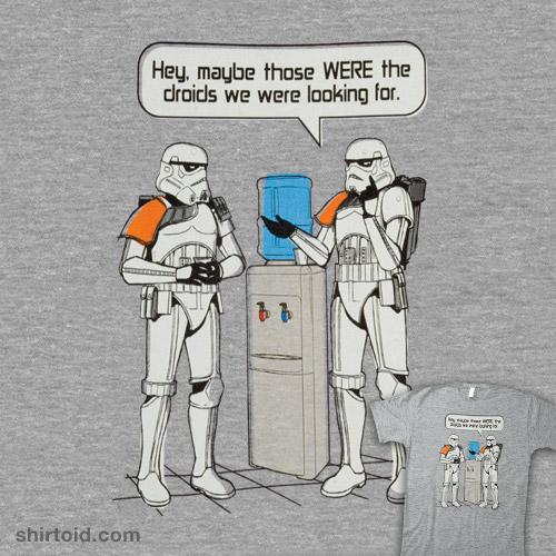 Watercooler Stormtroopers