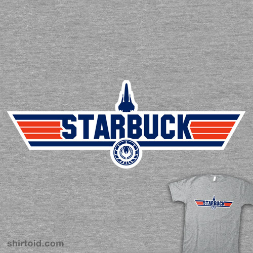 Galactica's Top Gun