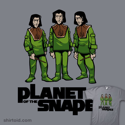 planet of the snapes shirtoid