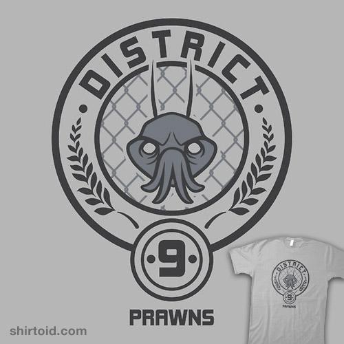 Prawn District Shirtoid