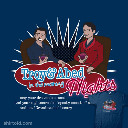 Troy and Abed in the Morning… Nights!