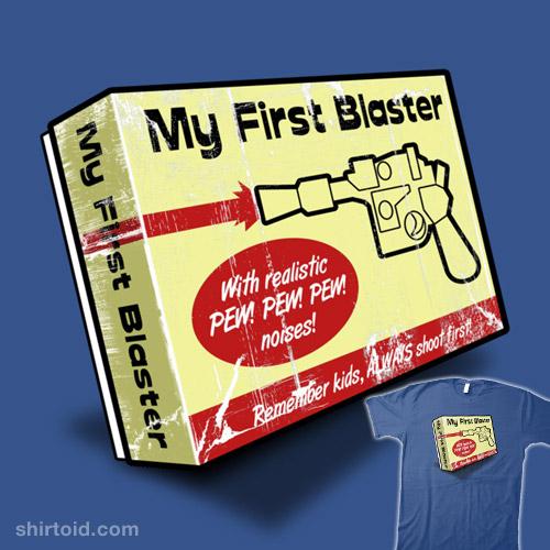 My First Blaster